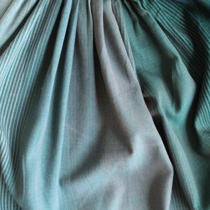 Green Ombre Fabric Swatch