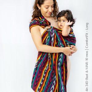 Maya Wrap Ring Sling ComfortFit Luis
