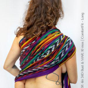 Maya Wrap Ring Sling ComfortFit Luis Back