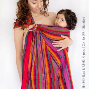 Maya Wrap Ring Sling ComfortFit Quetzal