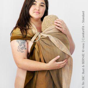 Maya Wrap Ring Sling ComfortFit Turmeric Ombre