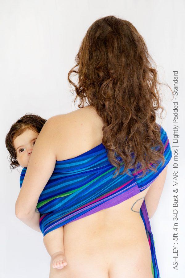Maya Wrap Ring Sling Lightly Padded Atitlan Back