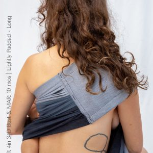 Maya Wrap Ring Sling Lightly Padded Asher Shoulder